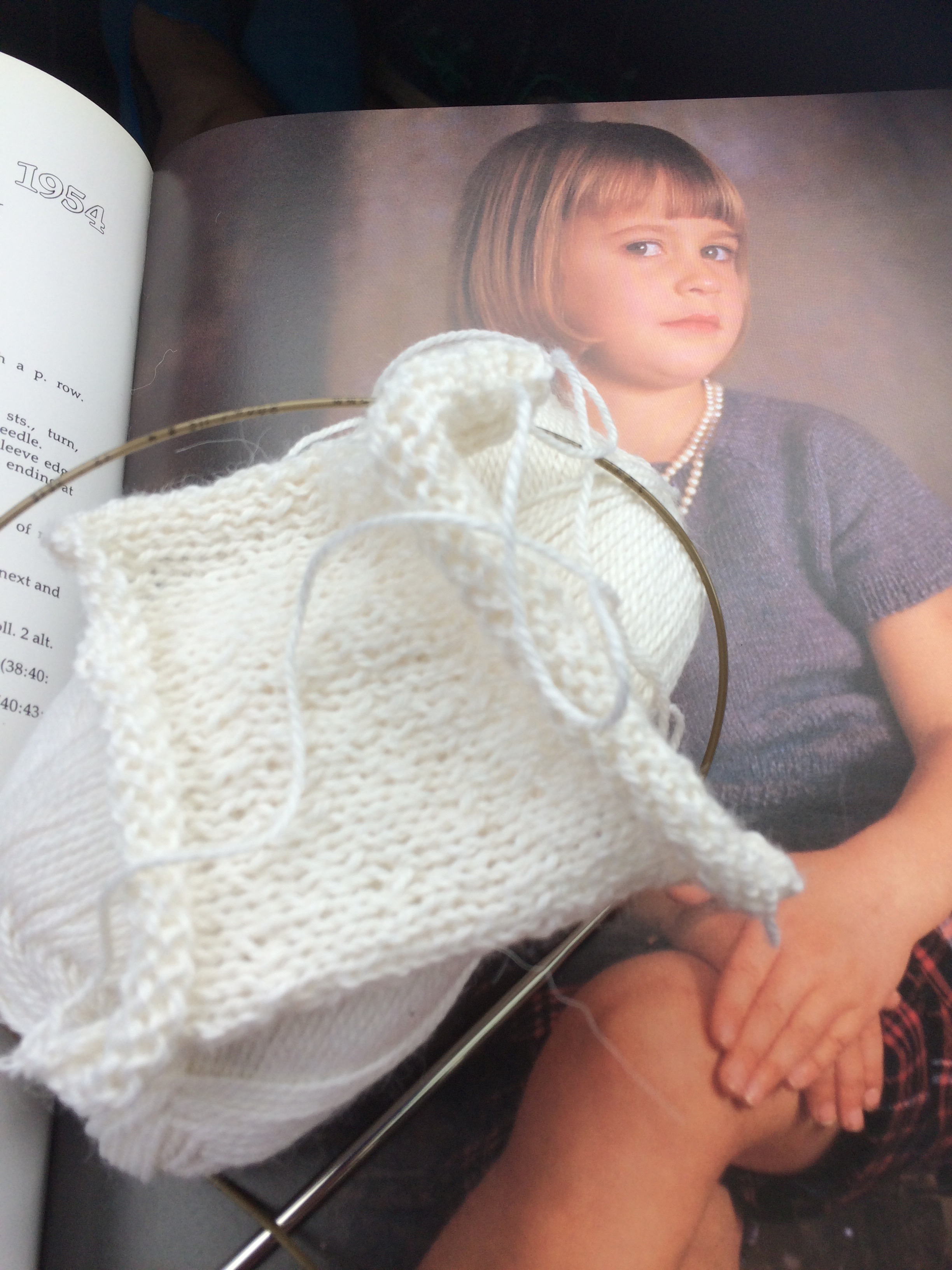 Knitting a tension square