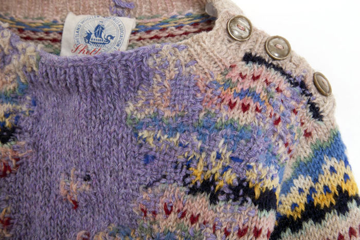 Celia Pym - Hope sweater - close up