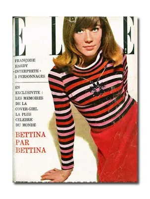 Francoise Hardy in Sonia Rykiel Poor Boy jumper