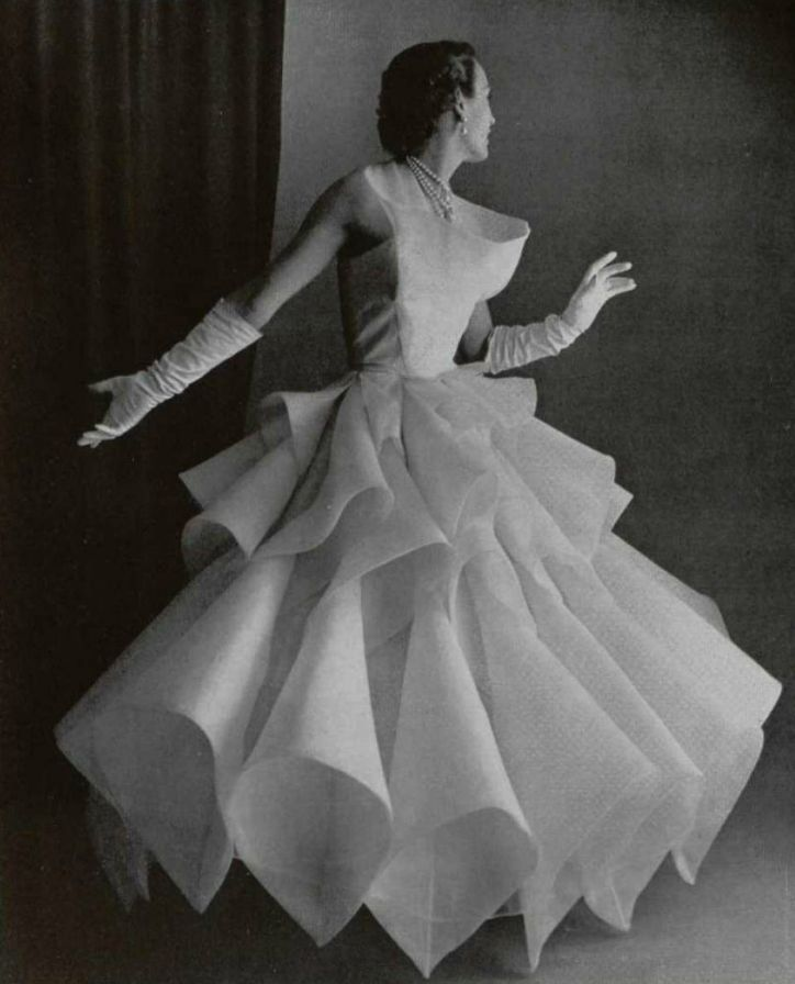 1951 Castillo evening dress