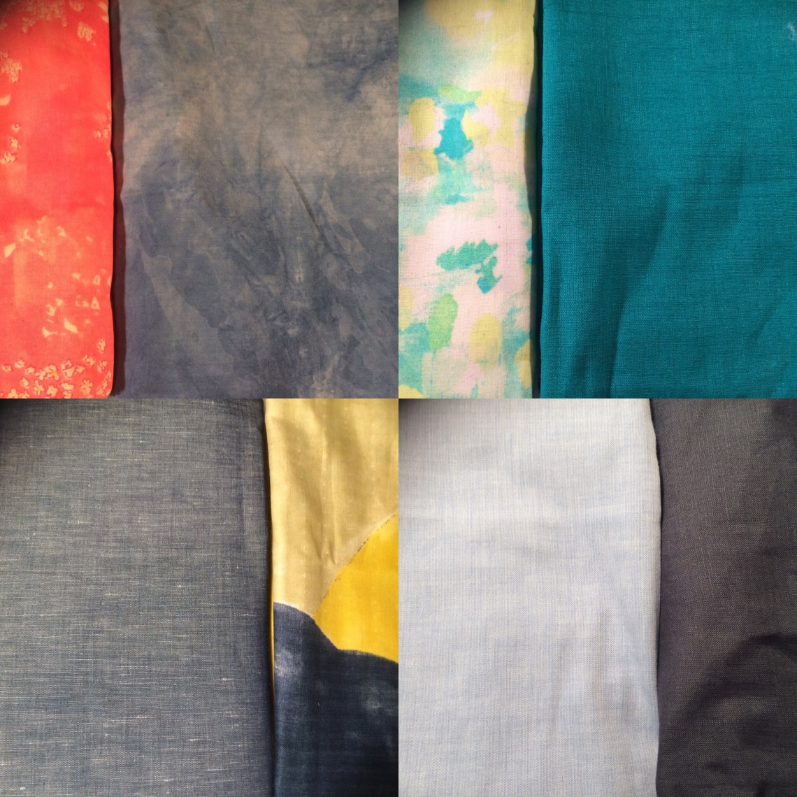 Possible fabric choices for Perry Ellis dress
