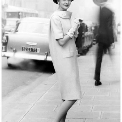 1958 Antonio del Castillo  dress