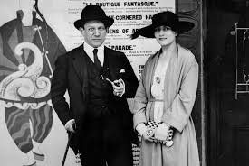 Picasso with Olga in Leicester Square
