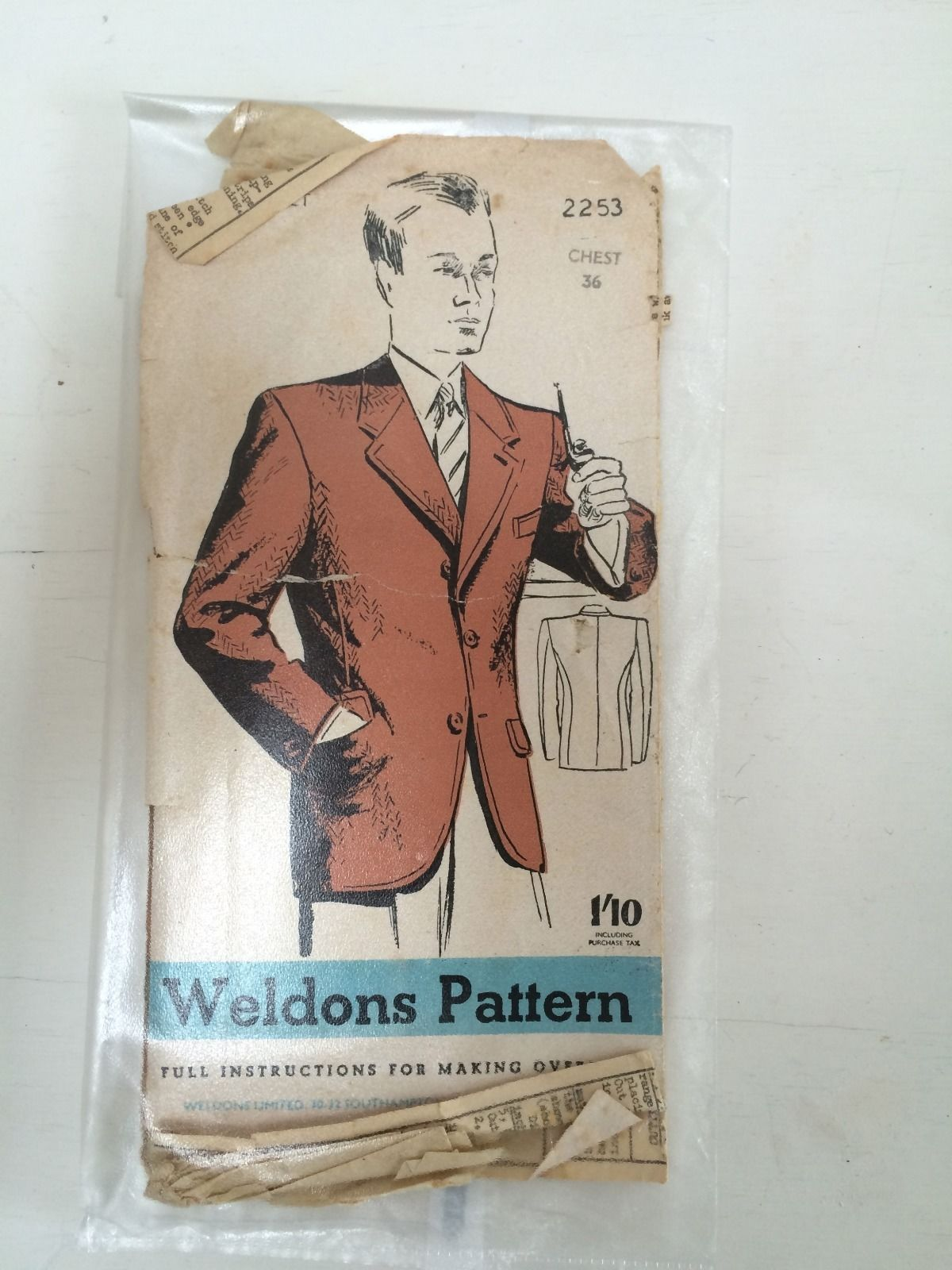 Weldon pattern 2253, c1940s