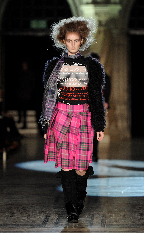Westwood tartan skirt