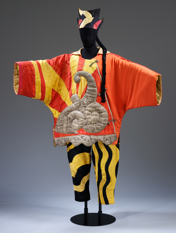 Picasso costume from Ballet Russe (V&A)