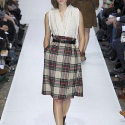 Margaret Howell tartan skirt AW 2010/11
