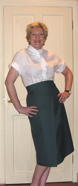 Ruth in the CPD CC skirt