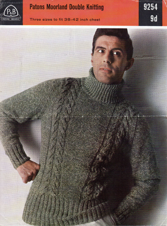 MANSWAP #2 – Polo (turtle) neck Pullover Pattern – Fabrickated