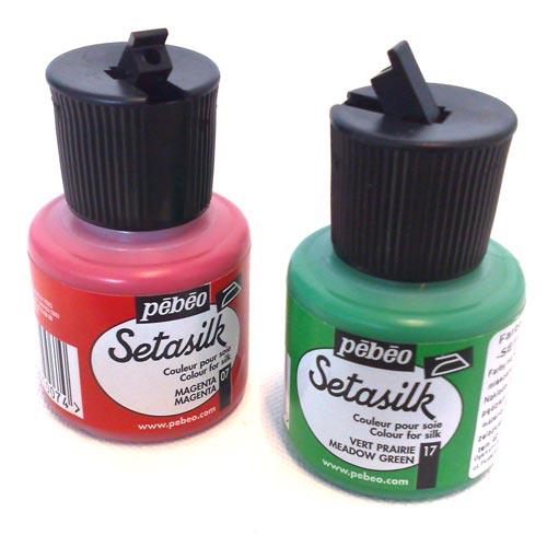 silk paints