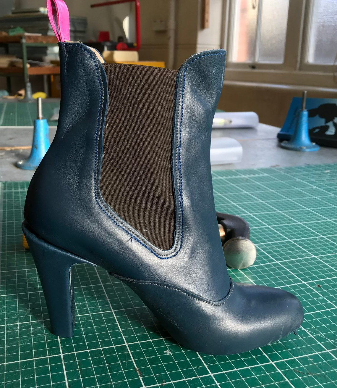 Ladies boot making