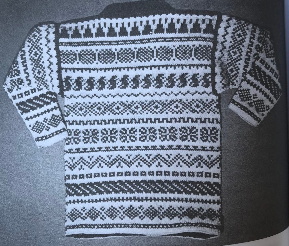 EZ Ski Sweater in Colour Patterns