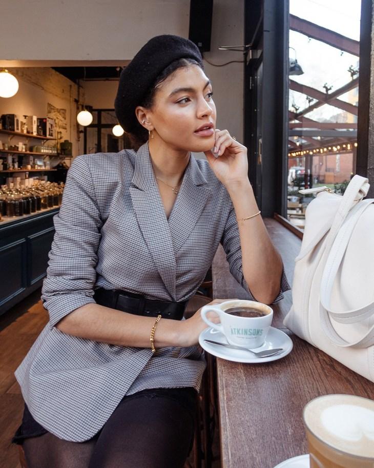 Portrait of Samio Renelda, Manchester lifestyle blogger