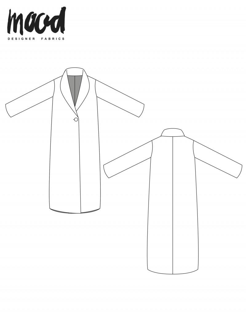 Jacket Patterns Free : jacket, patterns, Blackthorn, Sewing, Pattern, Sewciety