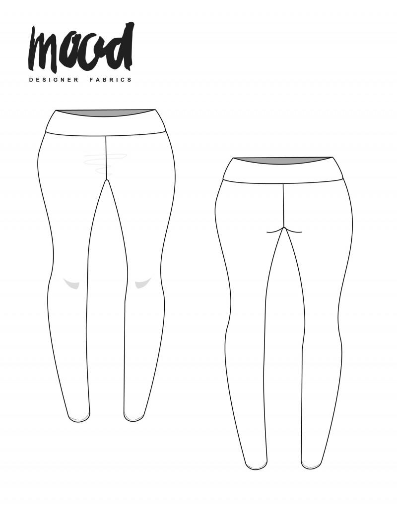 Leggings Sewing Pattern : leggings, sewing, pattern, Leggings, Sewing, Pattern, Sewciety