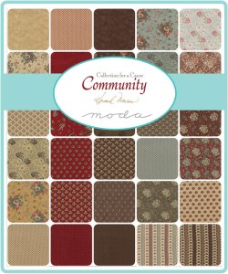Community Collections for a Cause by Howard Marcus for Moda fabric Reproduction Fabric Collection - Jelly Roll - 2.5 inch strips