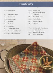 Jo's Little Favorites II - A Classic Collection of 15 Small Quilts - Jo Morton - Quilting Patterns with Reproduction Fabrics