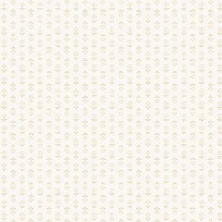 Blue Sky Fabric - Andover Fabric - Half Yard - Reproduction Tonal Tan Flowers on Cream Shirting Edyta Sitar Laundry Basket Quilts A-8512-L