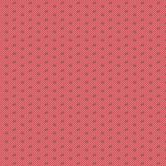 Isabella Fabric - Half Yard - Jo Morton - Red with Brown Tiny Flowers Design Quilting Quilt Fabric Andover Reproduction A-5328-LR