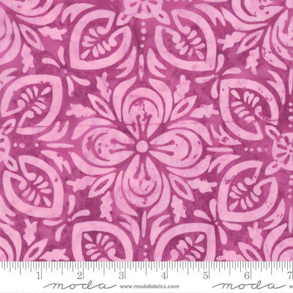 Latitude Batik Fabric - Moda Fabric - Half Yard - Kate Spain Raspberry Purple Pink Navigate Hand Dyed Fabric Quilt Fabric 27250 377