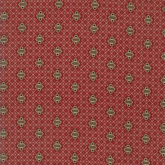 Rachel Remembered Fabric - Moda Fabric - Half Yard - Betsy Chutchian Turkey Red Reproduction Lyncoya Quilt Fabric Civil War Fabric 31547 13