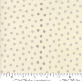 Sweet Blend Fabric - Moda Fabric - Half Yard - Floral Reproduction Polka Dots Natural Ivory Tonal Edyta Sitar Laundry Basket Quilts 42295 11