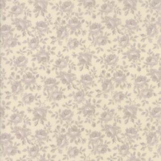 Sweet Blend Fabric - Moda Fabric - Half Yard - Reproduction Summer Garden Tonal Gray Cream White Edyta Sitar Laundry Basket Quilts 42291 11
