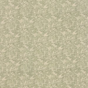 Under the Mistletoe Seasonal Christmas Holly Damask Green Designer Quilting Sewing Fabric by 3 Sisters for Moda - 1/2 Yard 4407523