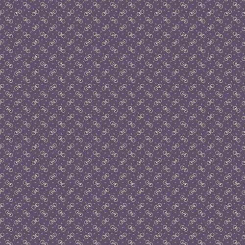 Weeping Willows Fabric Half Yard Kathy Hall Purple With