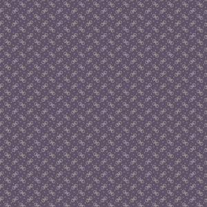 Weeping Willows Fabric - Half Yard - Kathy Hall - Purple with Cream Circles Designs Gears Small Scale Print Quilt Fabric Andover - A-8345-P