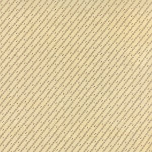 Wild Orchid Lady Slipper - Half Yard - Moda Fabric Diagonal Stripes Natural Cream White with Brown Blackbird Designs Quilt Fabric 2777 11