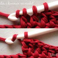 Aumentar & Diminuir – Dicas de Crochet | Nº 2
