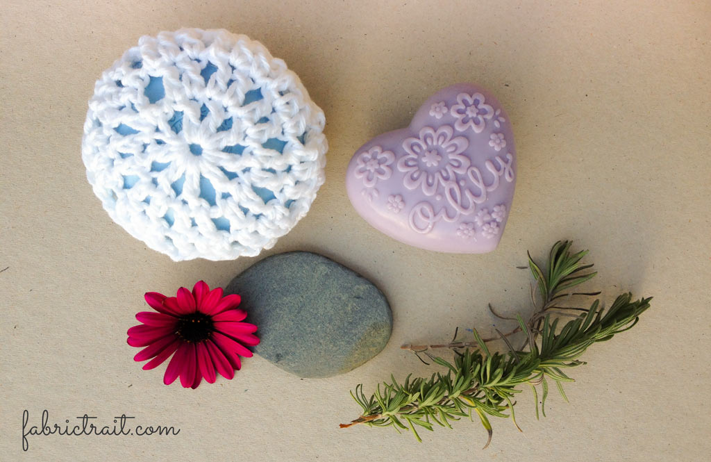 Crochet SOAP dish