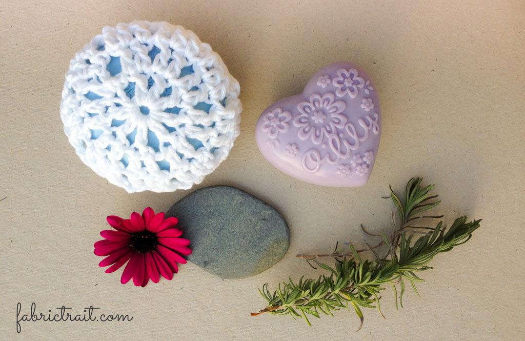 Saboneteira de Crochet 1 | saboneteira de crochet