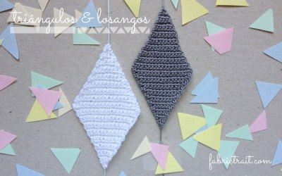 CROCHET DIAMONDS & TRIANGLES