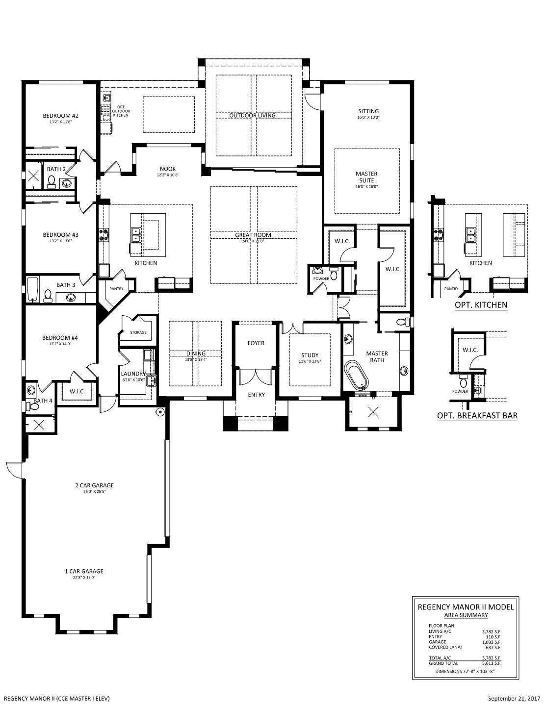 Regency Manor II / Floor plans / WildBlue / STOCK Family