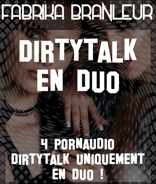 "Image du pack de pornaudio de dirtytalk et d'instruction de masturbation ""Dirty talk en duo"""
