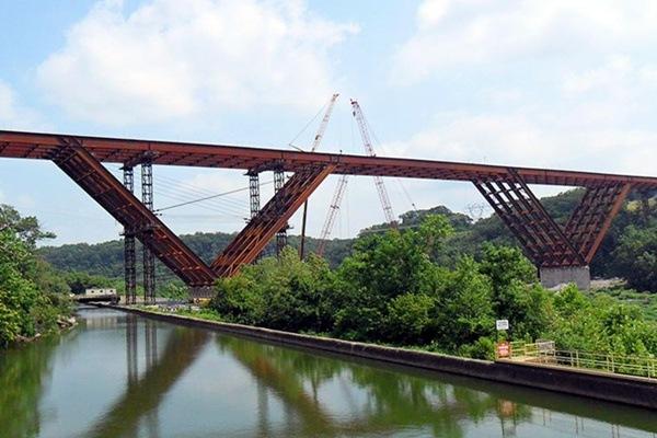Jembatan Baja  Fabrikasi Konstruksi Baja