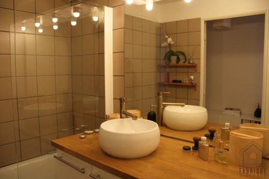 Salle de bains // Appartement BORDEAUX Chartrons