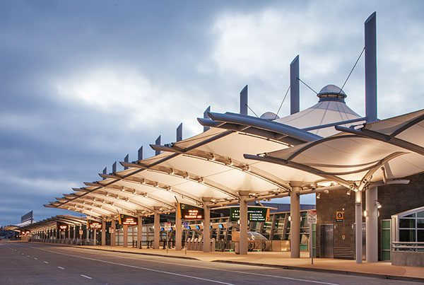 San Diego International Airport Smart Curb Pavilion