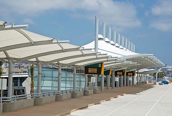 San Diego International Airport Smart Curb Pavilion