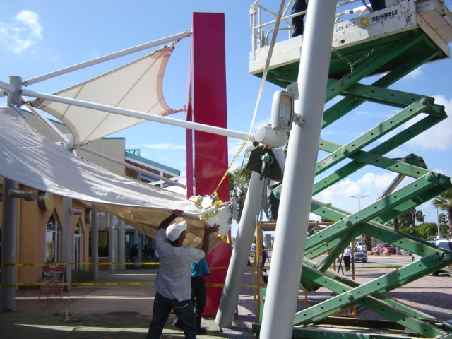 Installing Tension Fabric Structures FabriTec
