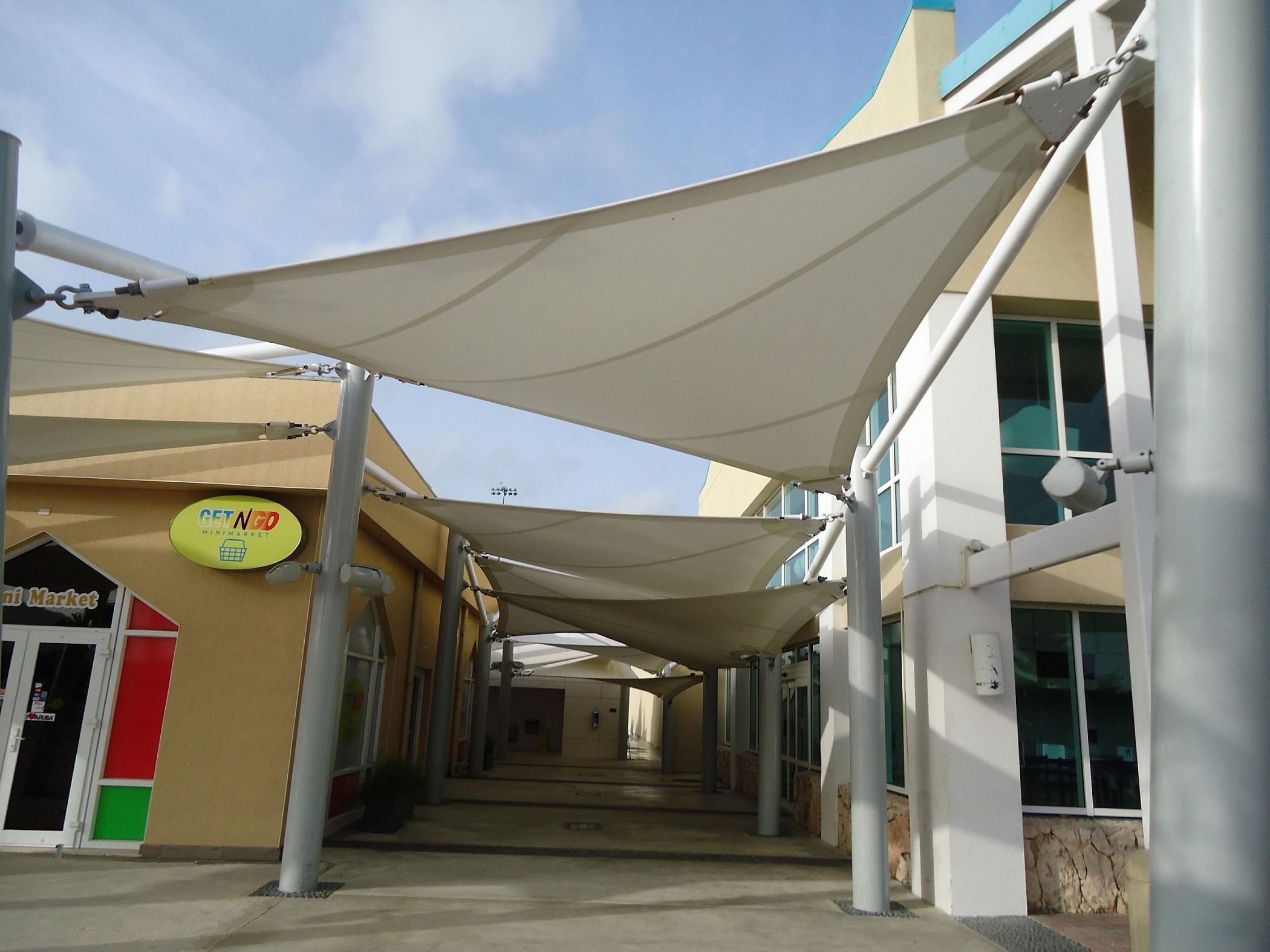 FabriTec Structures_Aruba Airport Walkway_2013