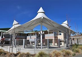 canopy tensile membrane structure fabric architecture