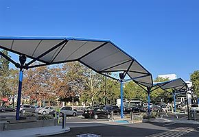 covered walkways fabric structures