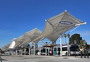 fabritec structures bus station depot