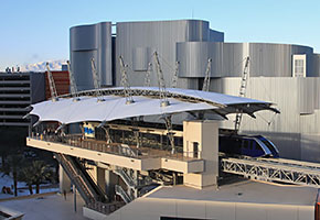 mgm citycenter people mover train station las vegas nevada