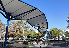 western digital campus covered walkway