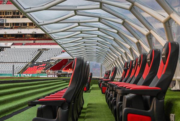 Estadio Azteca Dugout Canopy