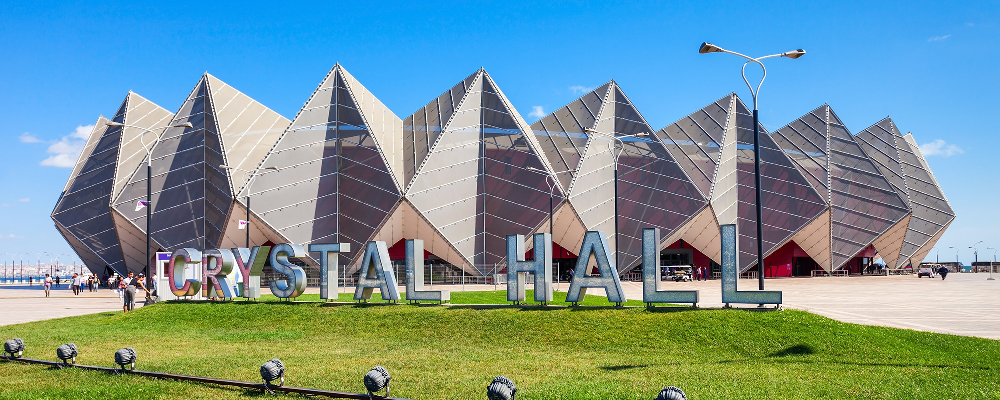 Baku Crystal Hall mesh façade FabriTec Structures